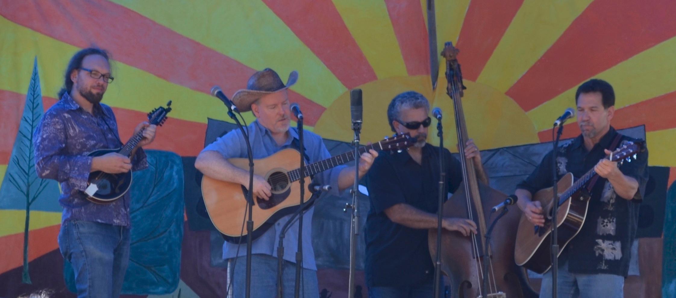 with Heathen Hill at Shobe Music Festival, 2014