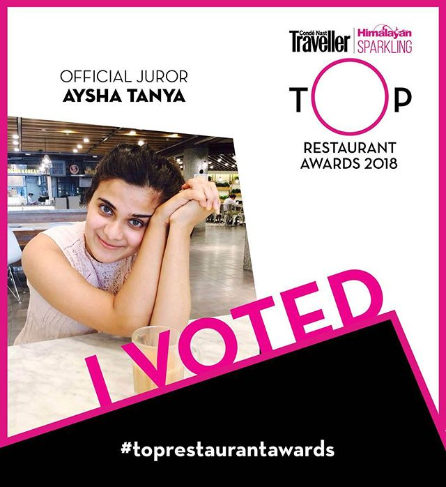 It's that time of the year again! The @cntravellerindia #toprestaurantawards are only two days away!
