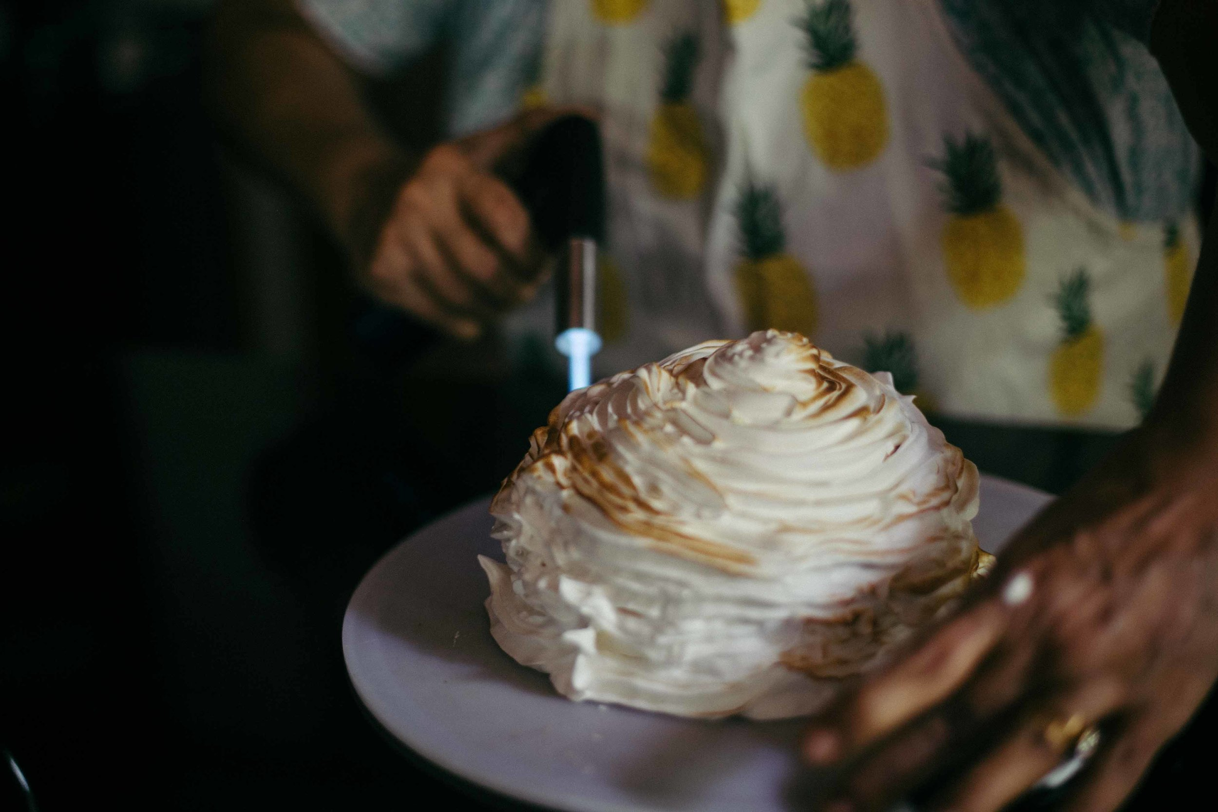 baked alaska recipe | malabar tea room