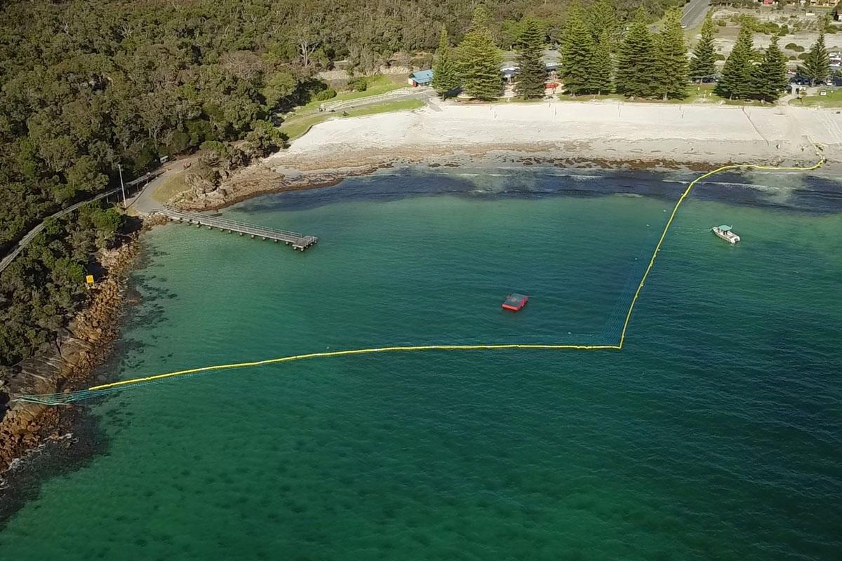 Global Marine Enclosures Aquarius Barrier Installation 2