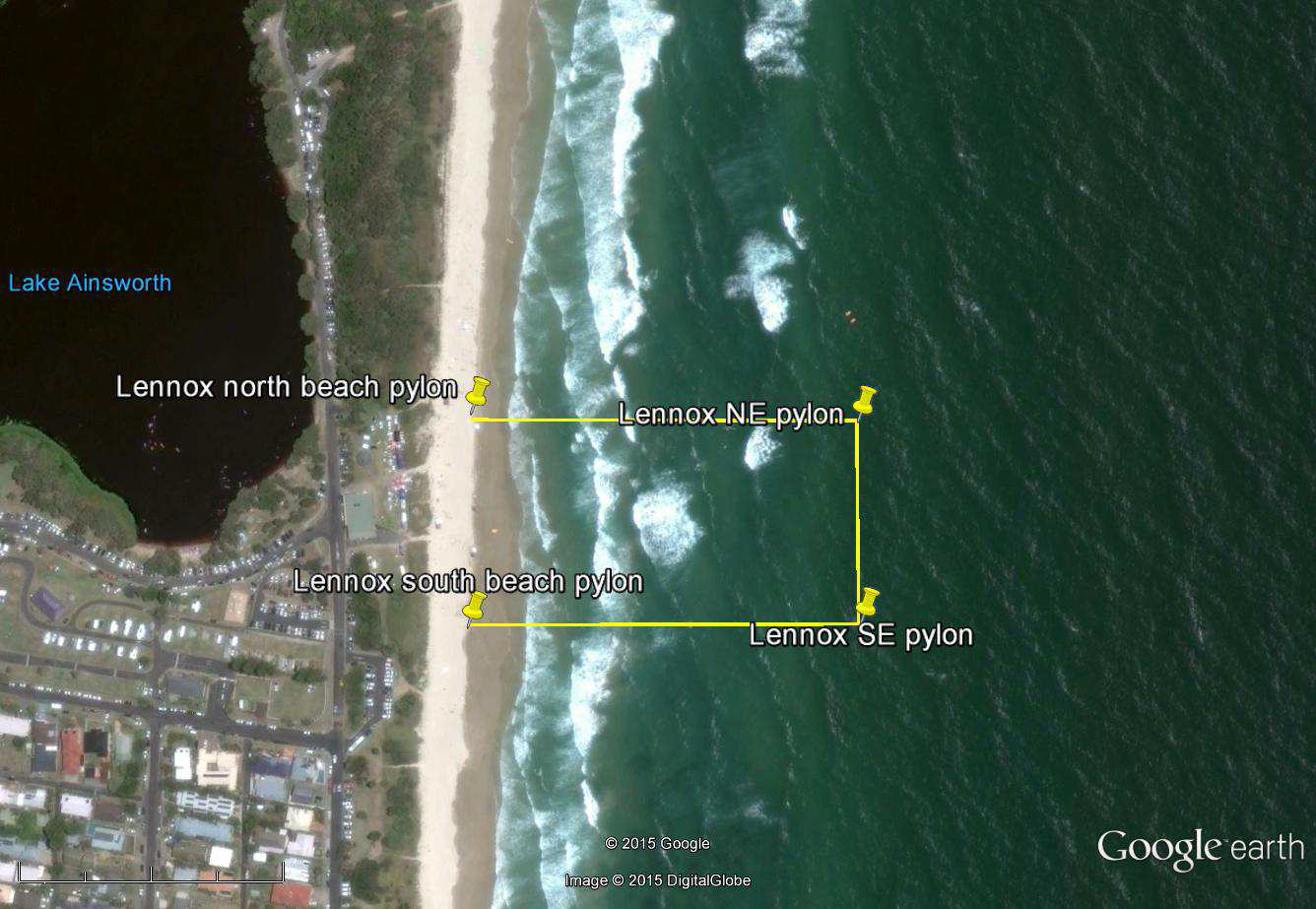 Global Marine Enclosures Aquarius Barrier at Lennox Head in New South Wales
