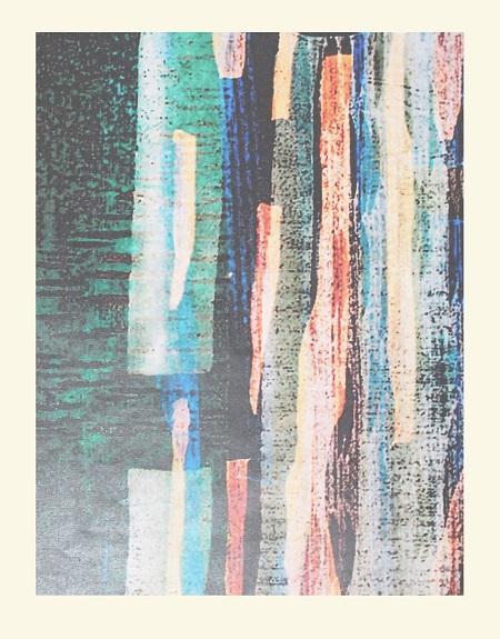 Templates Woodblock Print   25x30cm 2016
