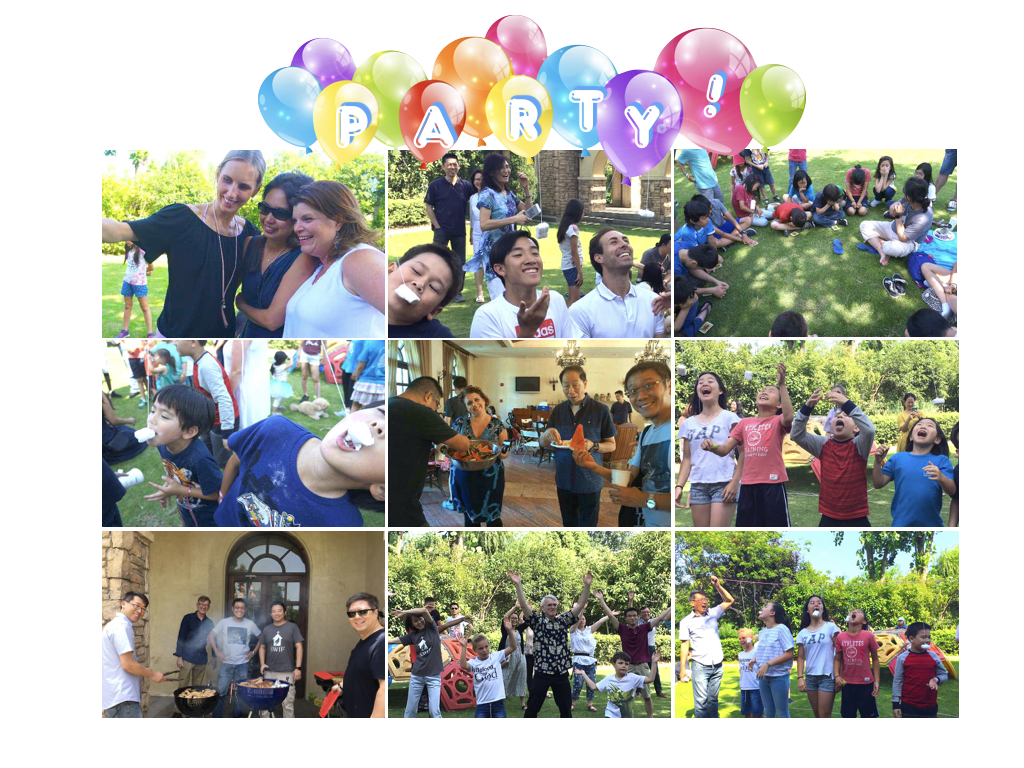 Farewell party at sante fe