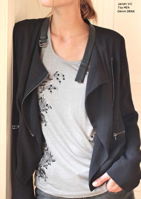 Vic пиджак Состав: 100% вискоза, 100% кожа ягненка. Цена: 26900руб.