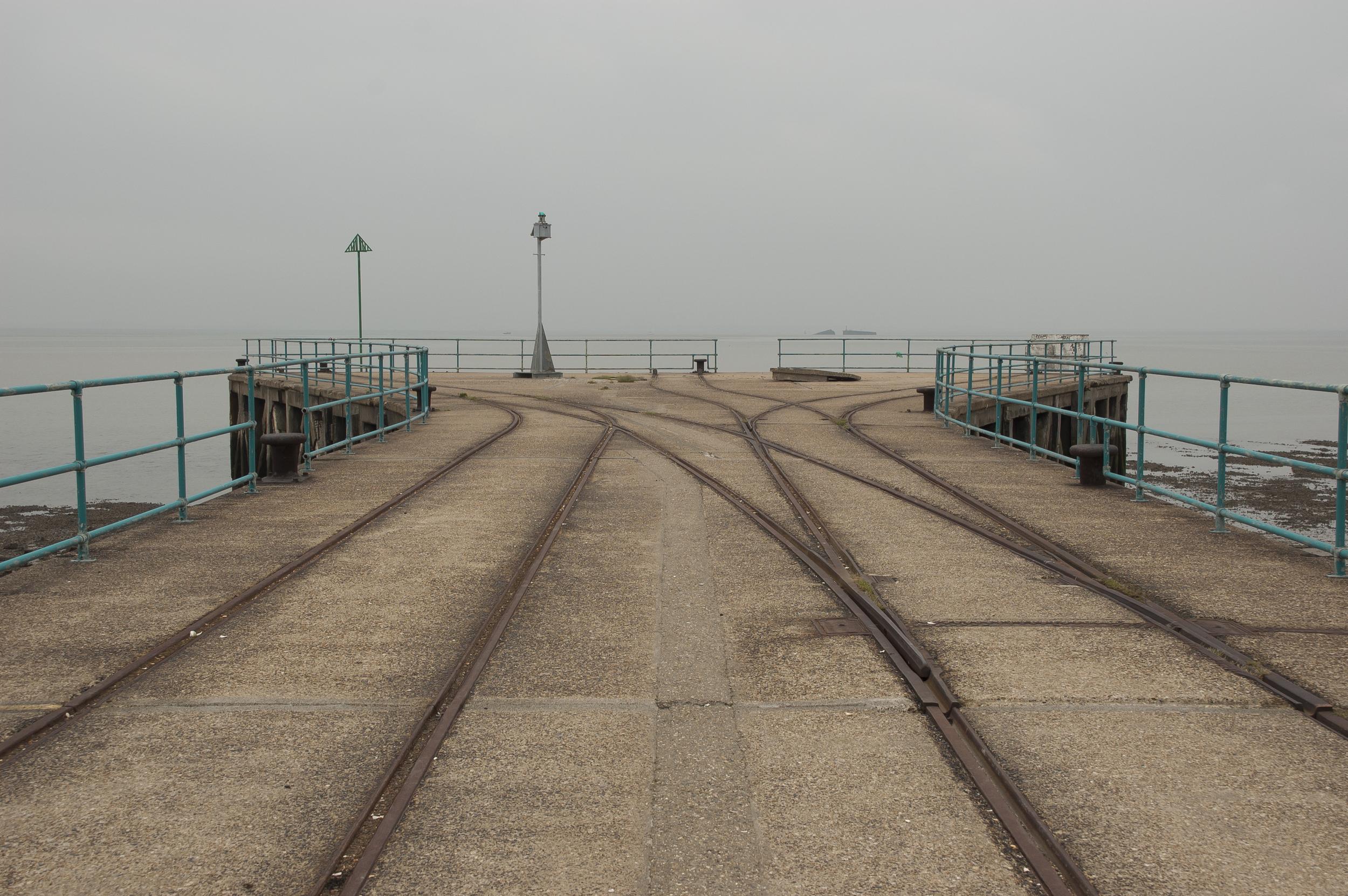 Garrison Pier 1, Shoeburyness,  digital C-print, 2008