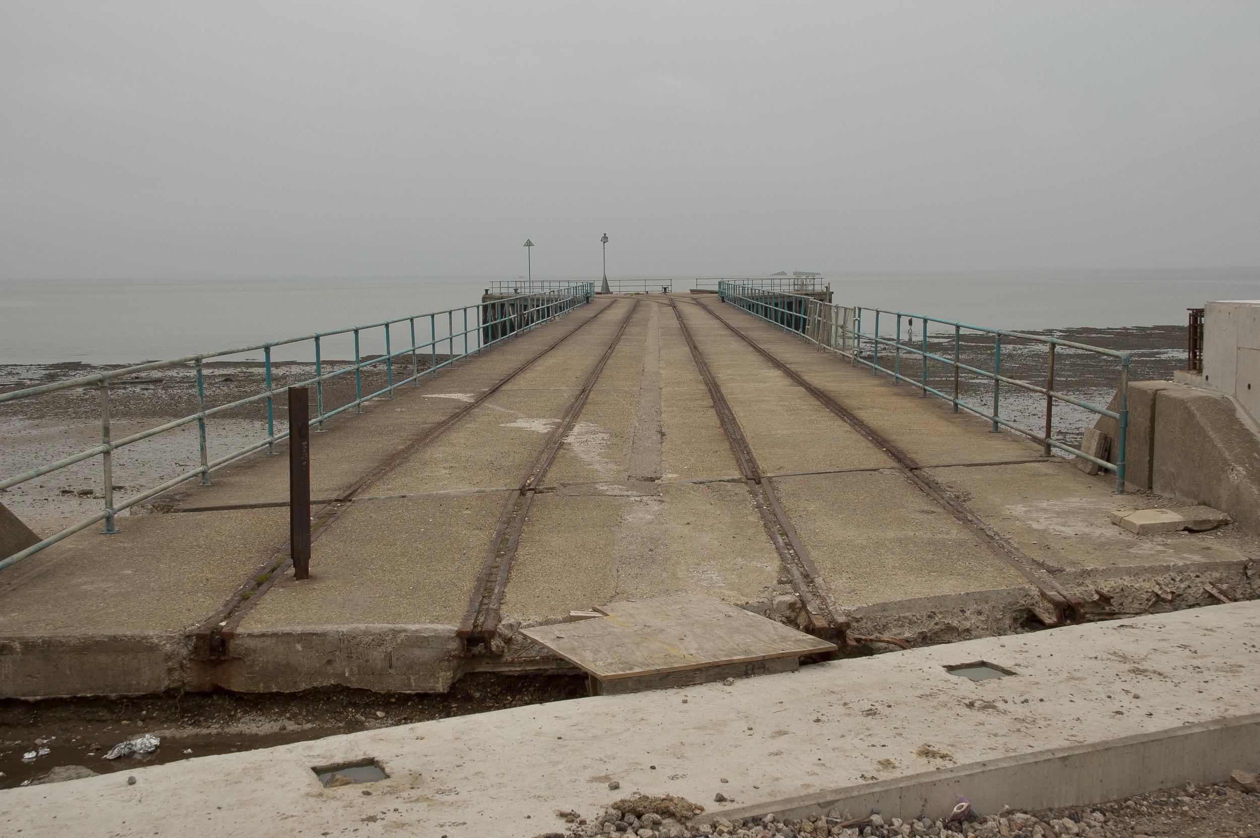 Garrison Pier 2, Shoeburyness,  digital C-print, 2008