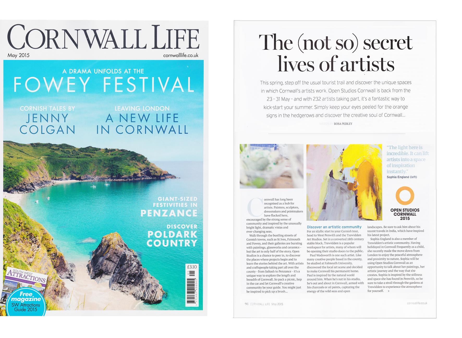 Cornwall Life Magazine - 2016