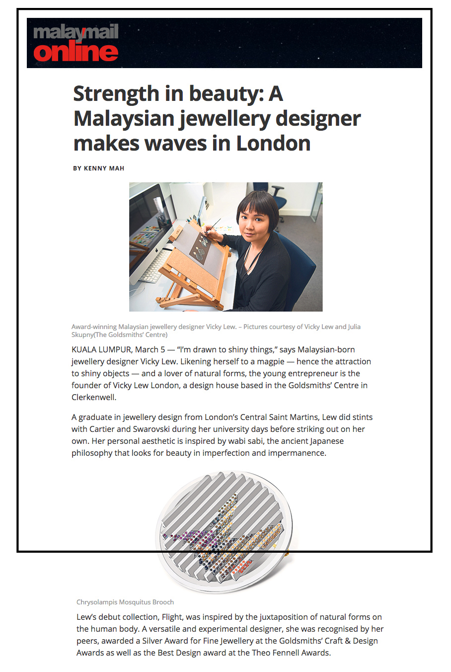 MALAY MAIL ONLINE     March 2017