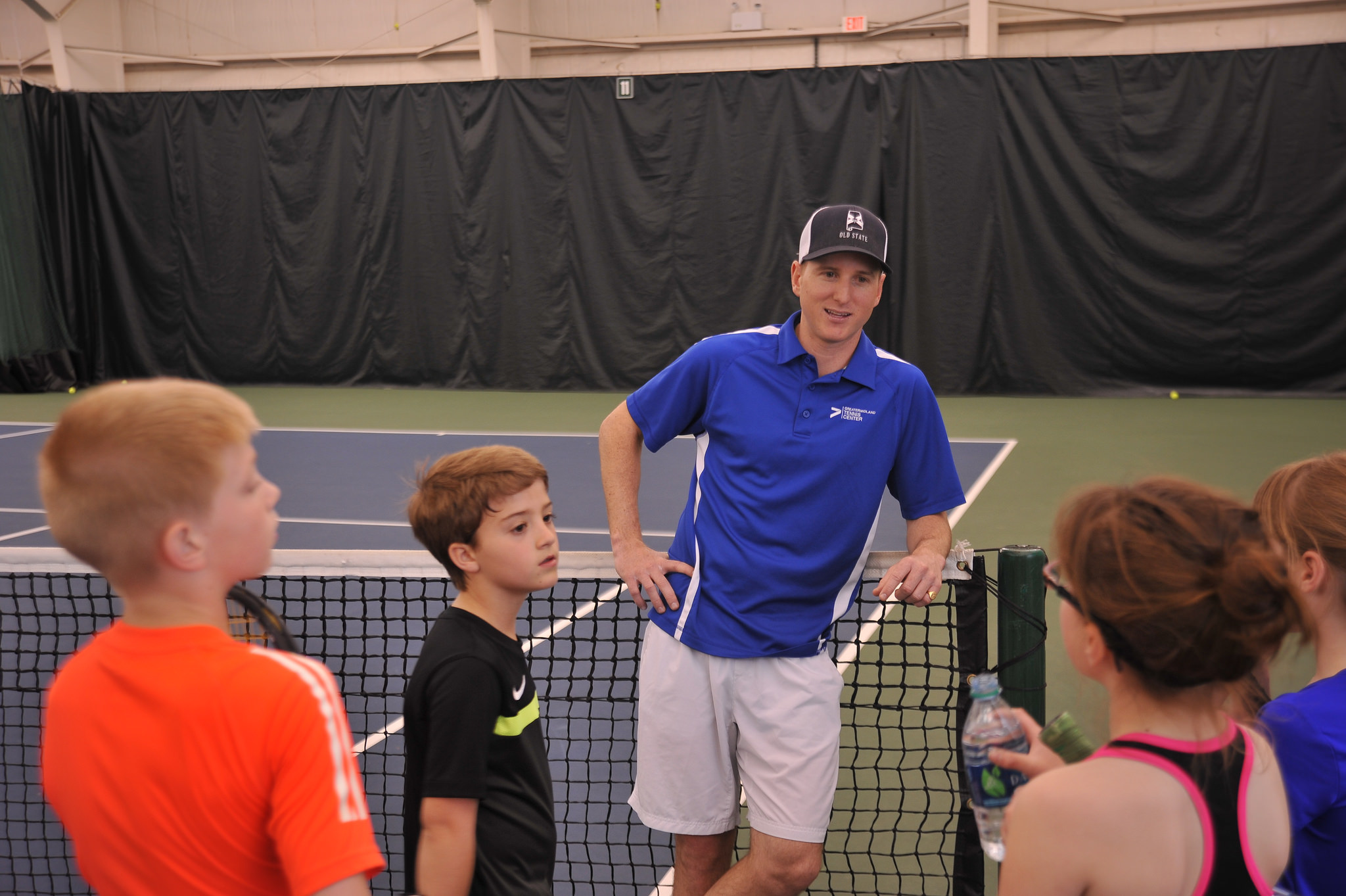 Michael Thompson working with our juniors.