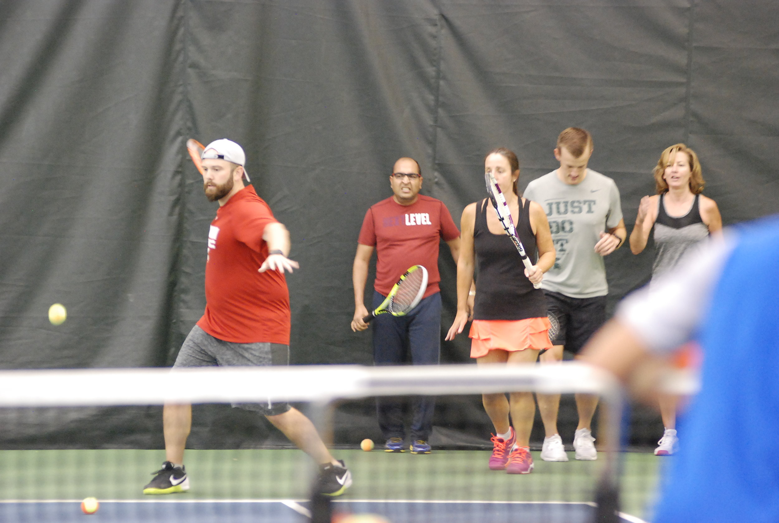 ADULT TENNIS   Make tennis a lifelong sport! No matter if you are a novice or advanced player, we have programs for you.   CLASS SESSIONS    DROP-IN CLASSES BY DAY