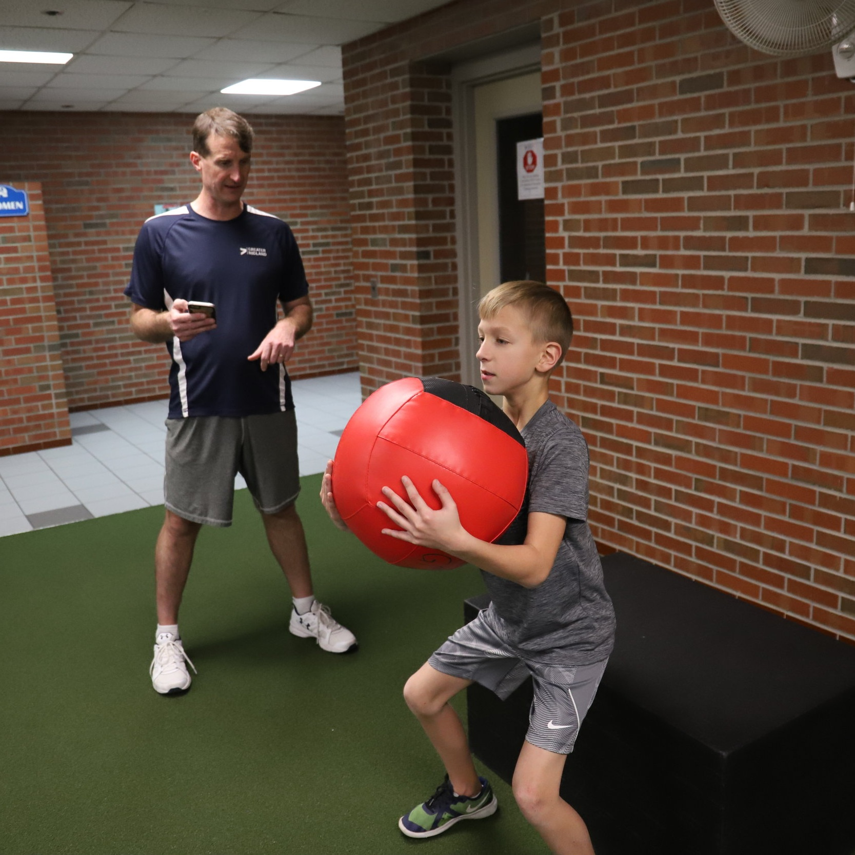 Brady works with  Greater Sports Performance  coach Mark. Learn more about his improvements in GSP -   click here