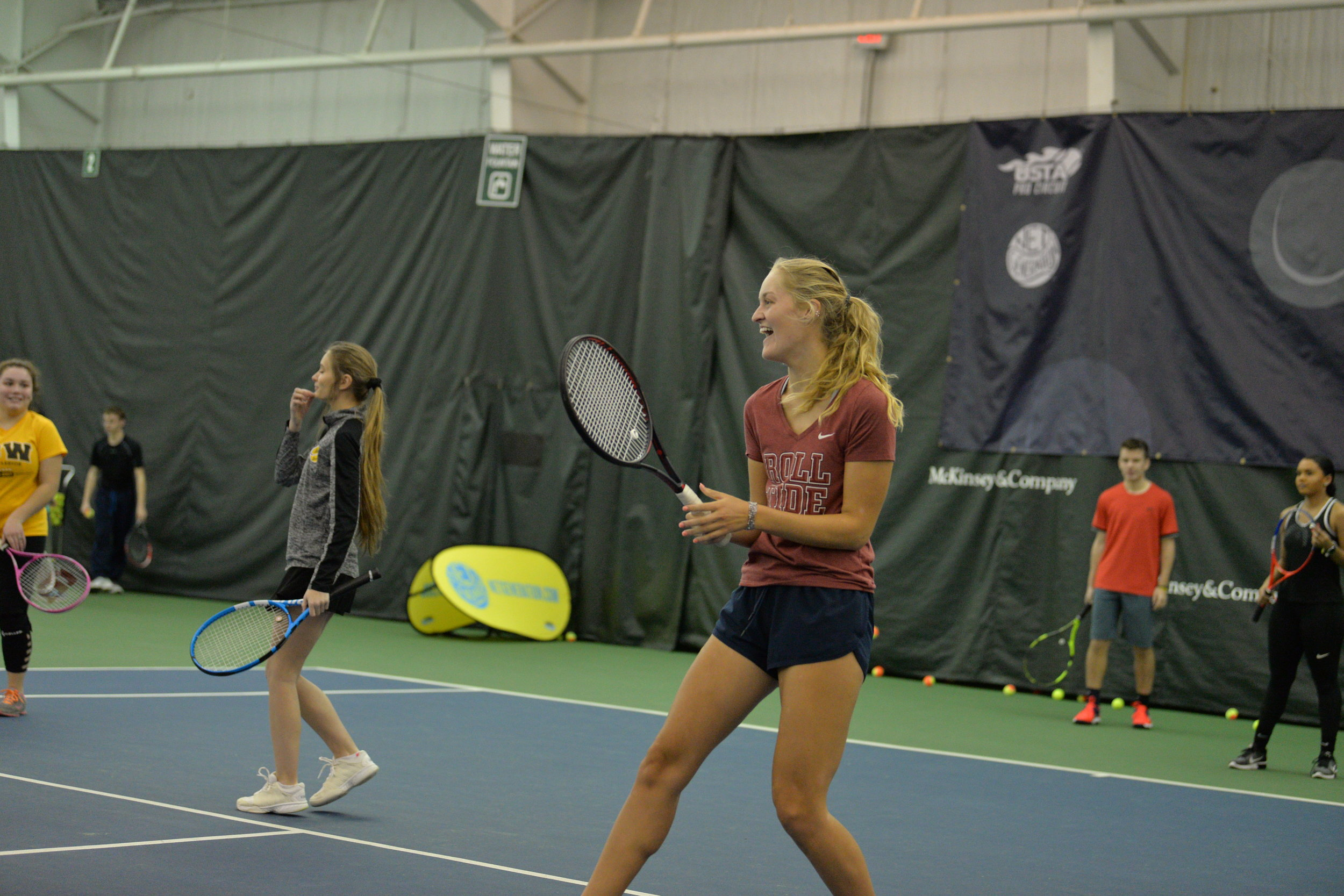 YOUNG ADULTS  Middle & high school programs  Programs for students who play recreationally and competitively - at any level!   YOUNG ADULT TENNIS    TOURNAMENT TRAINING