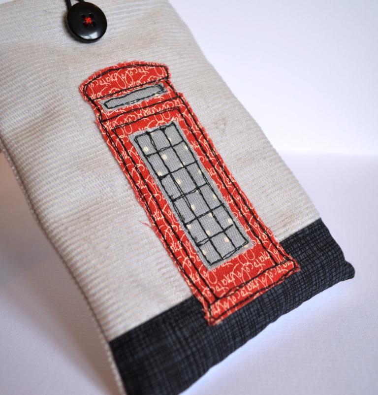 British Phone Box Phone Cover