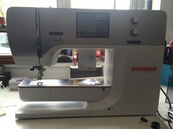 My new Bernina 770QE