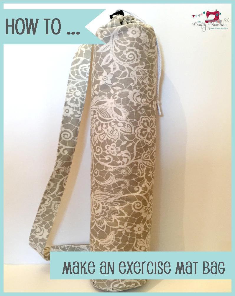 How to Make an Exercise Mat Bag