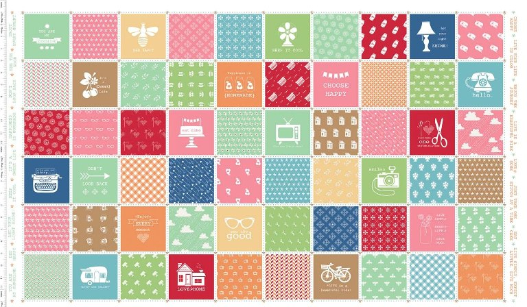 I Spy Snapshots Mini Quilt — The Crafty Nomad: Sewing