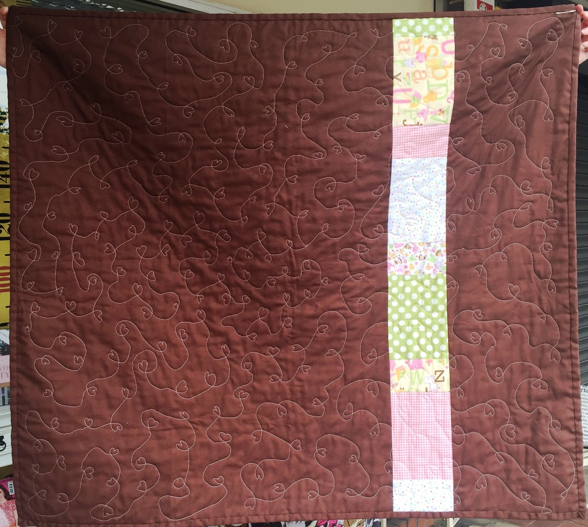 Baby Blocks Quilt by the Crafty Nomad