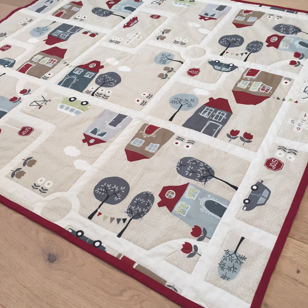 Quilted Playmat The Crafty Noamd