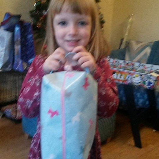 Louise's Oilcloth Bag for Sylvanian Families!