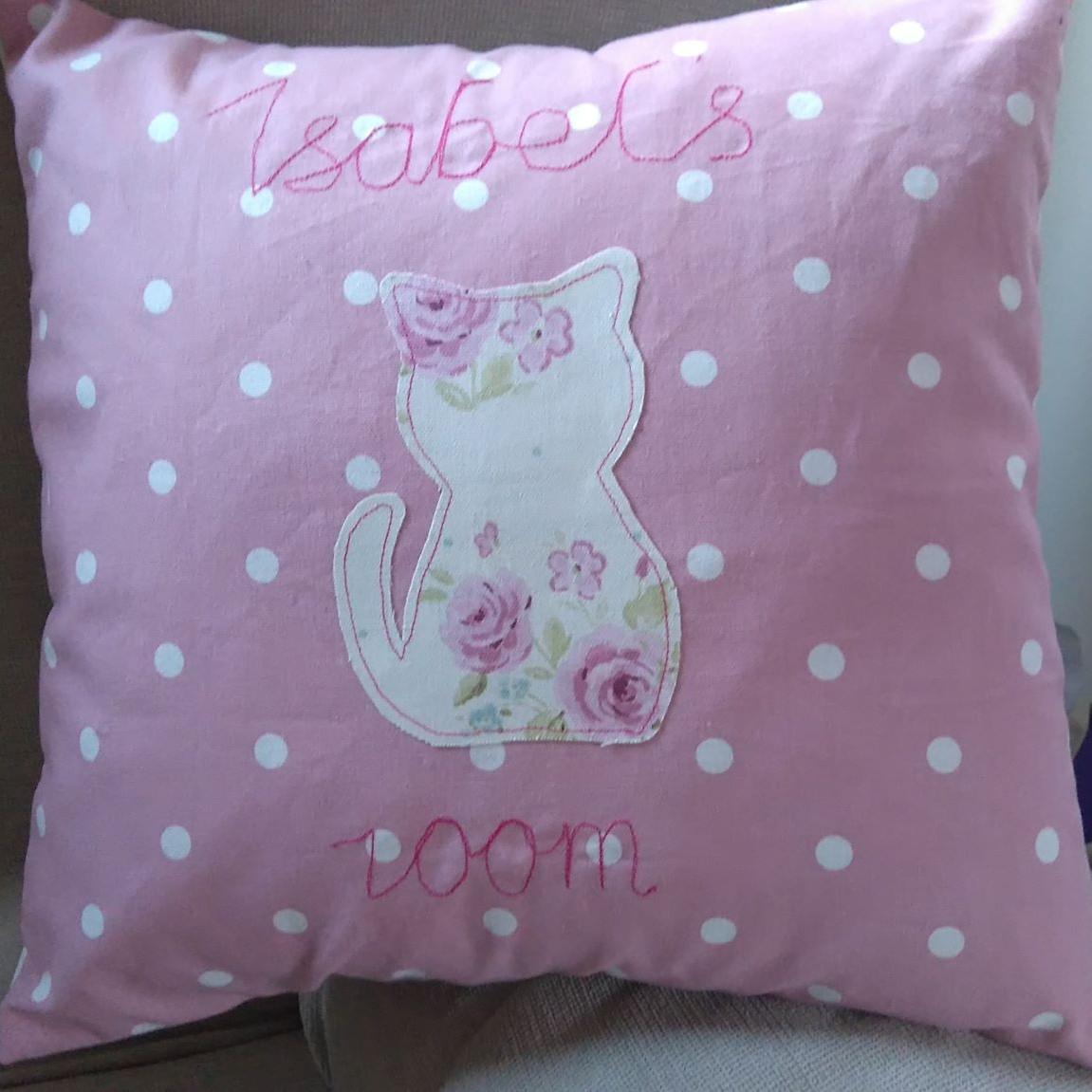 Sarah's Cushion