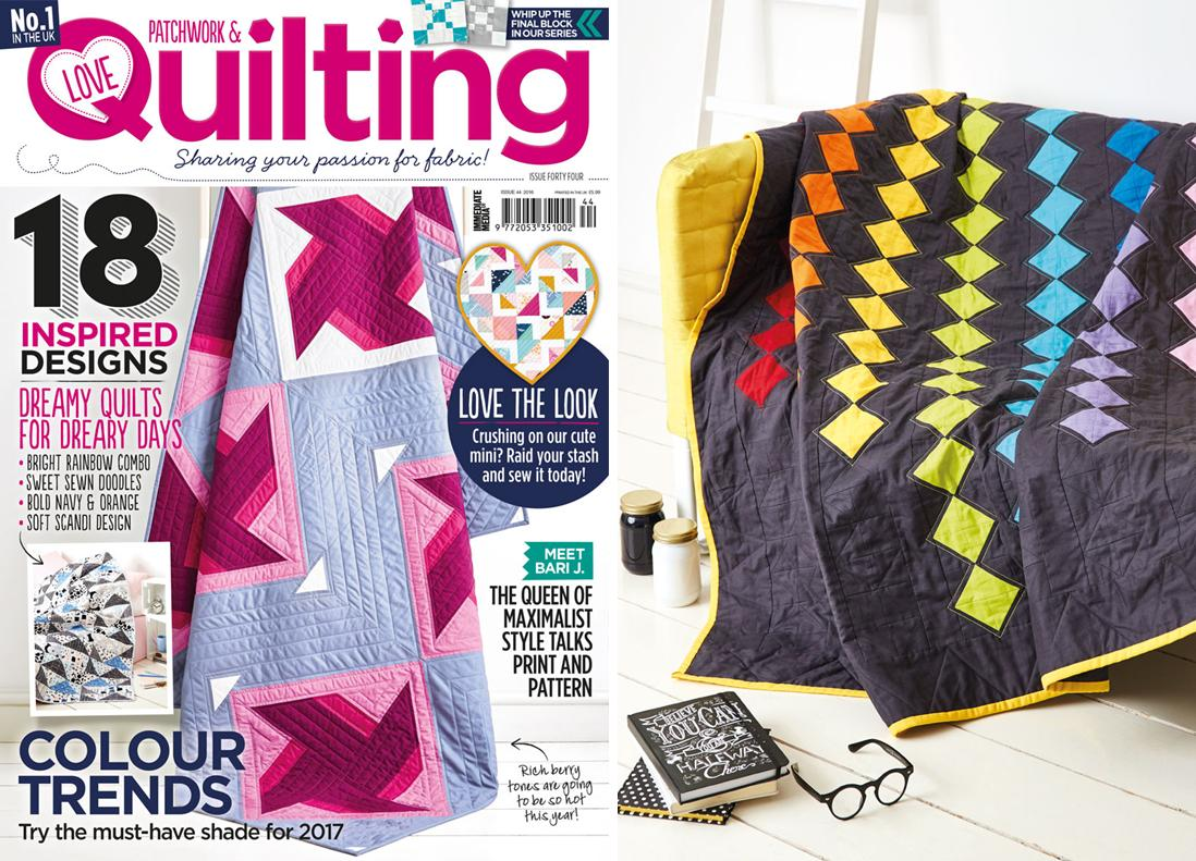 Love Patchwork & Quilting Issue 44 February 2017