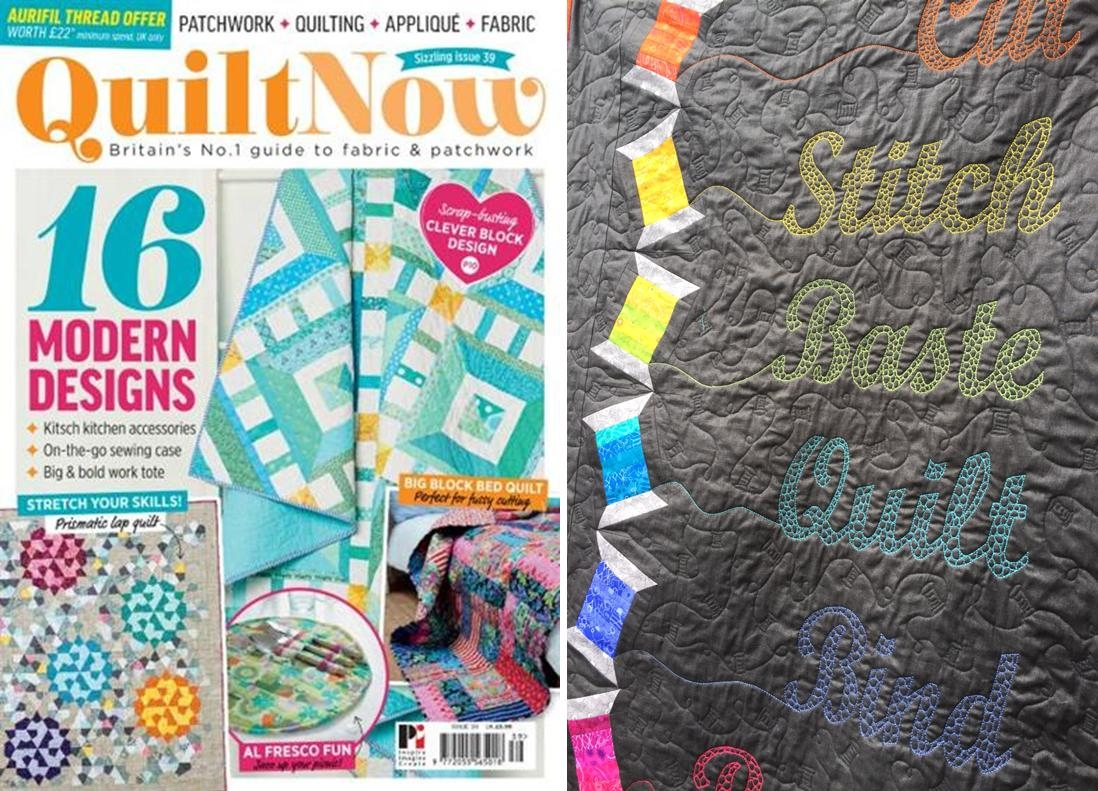 Quilt Now Issue 39 August 2017