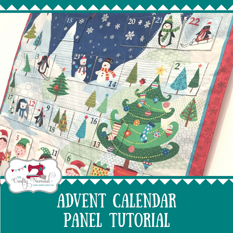 Advent Panel Tutorial The Crafty Nomad