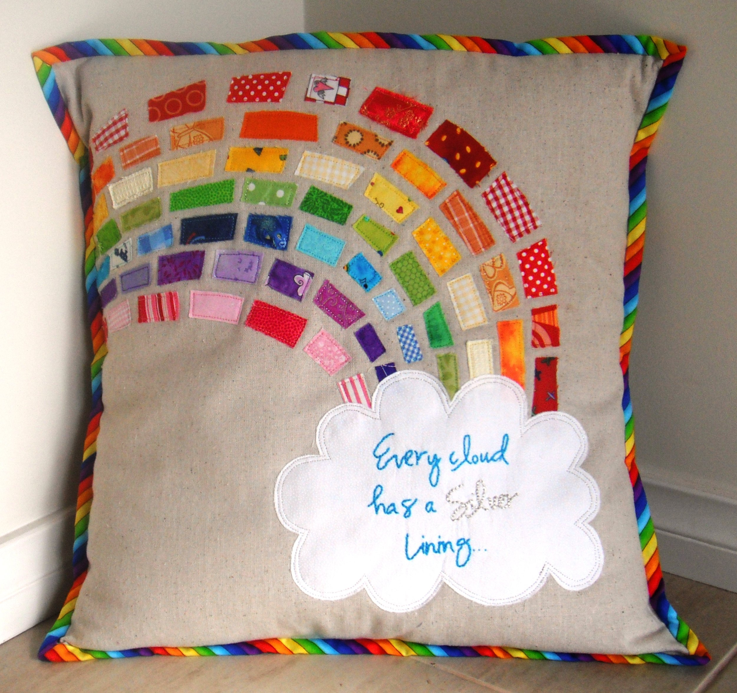 2011 Rainbow Cushion