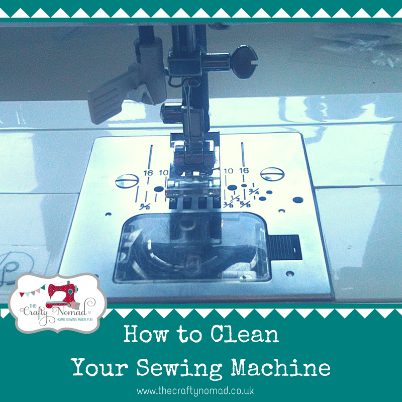 How to Clean Your Sewing Machine Tutorial The Crafty Nomad