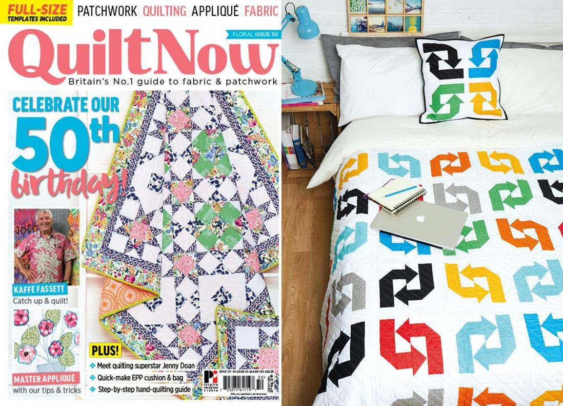 Quilt Now Issue 50 - May 2018