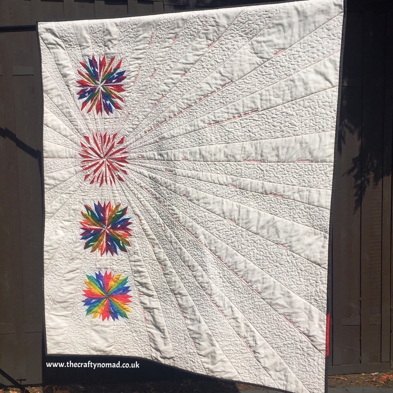 The Crafty Nomad - Jo Westfoot - Breaking Point - Let's Talk Quilt
