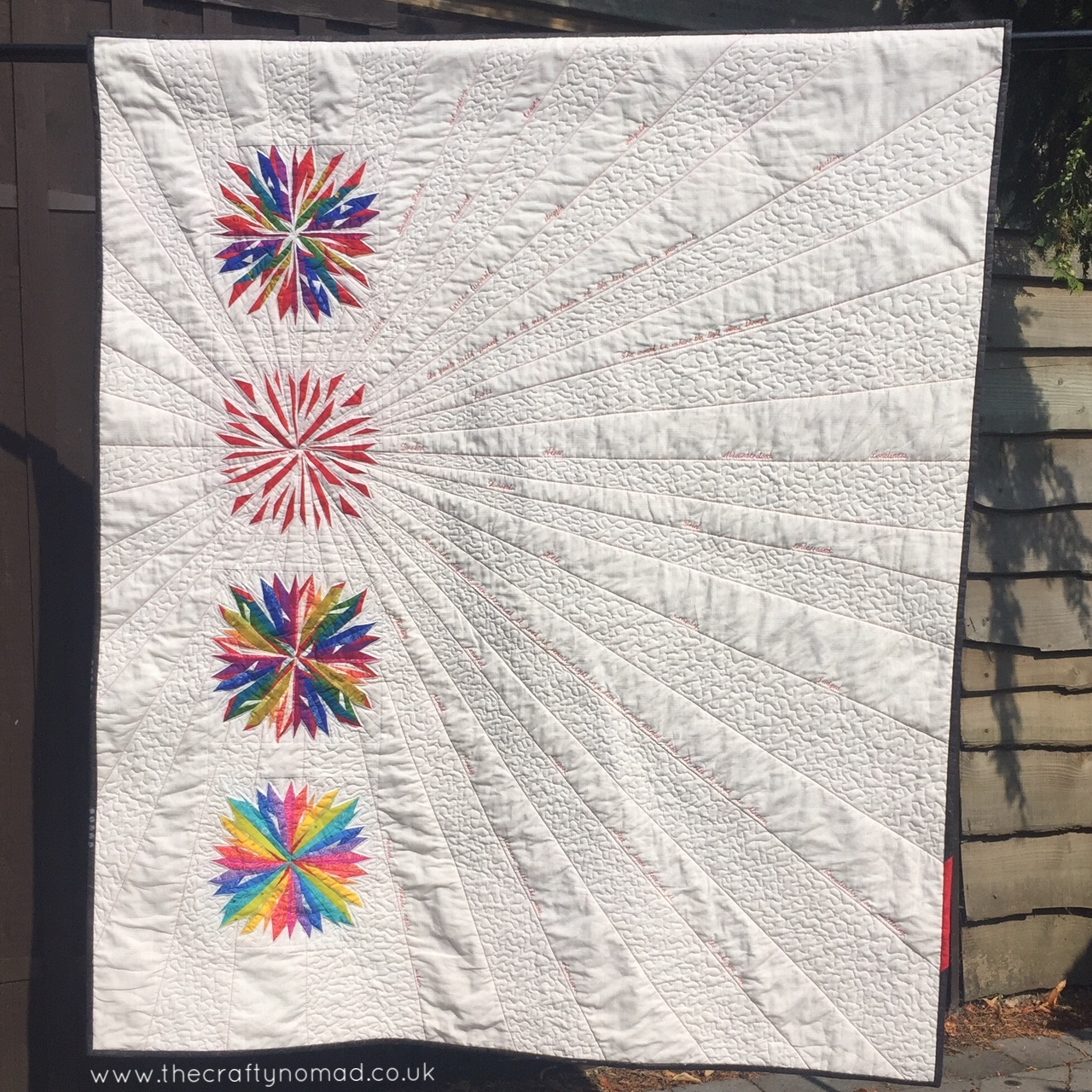 Breaking POint Let's Talk Quilt by Jo Westfoot The Crafty Nomad