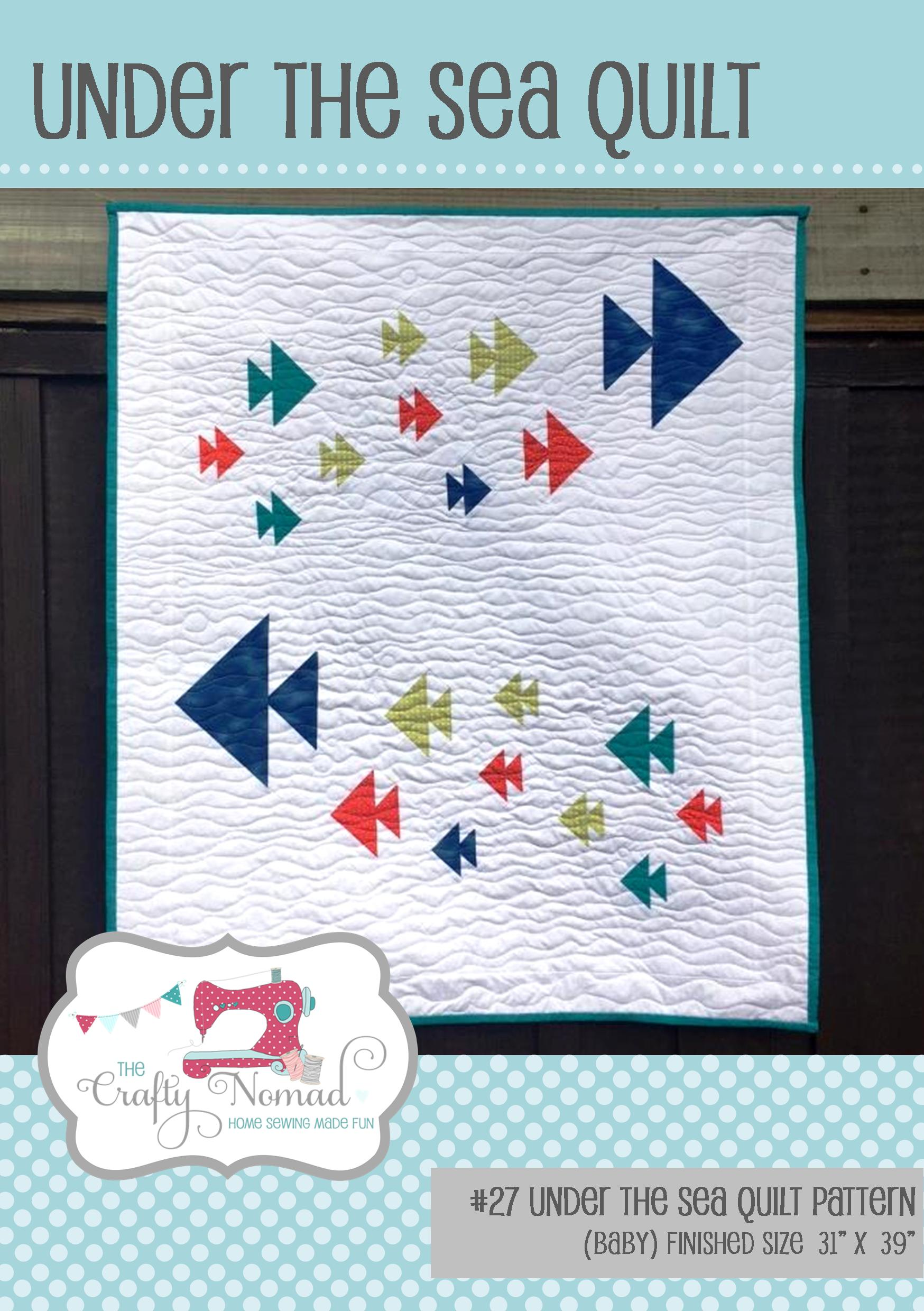 Under the Sea Quilt Baby Pattern Front Page The Crafty Nomad.jpg