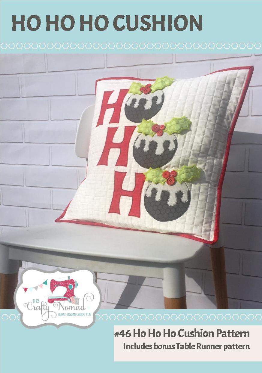 HoHoHo Cushion Pattern Image The Crafty Nomad.jpg