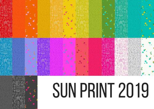Sun Print 2019 Fabric