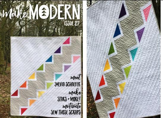 Rainbow Steps - Make Modern Magazine Issue 27 - March 2019