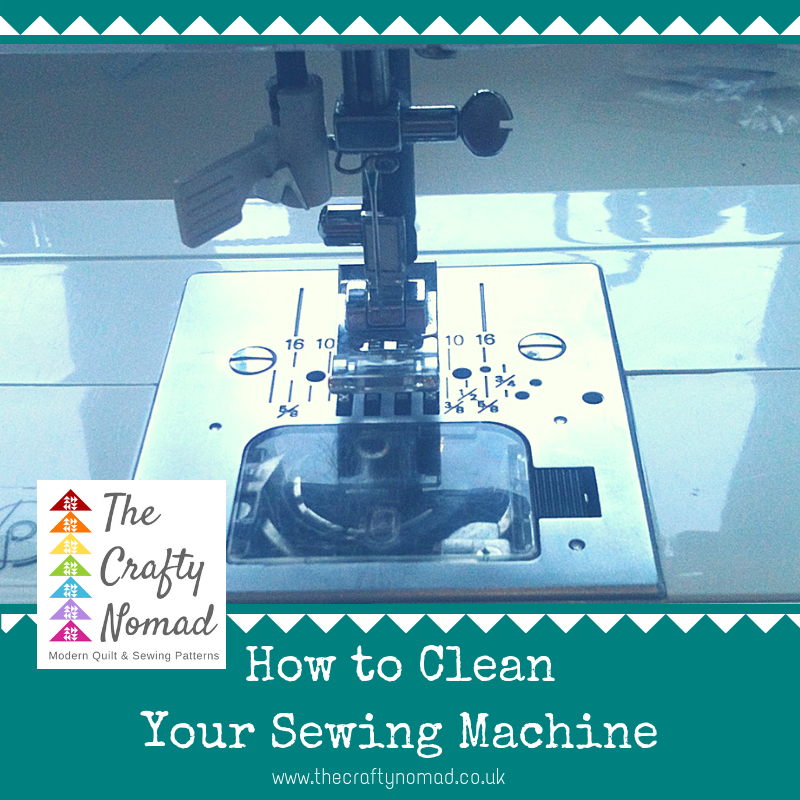 How to clean your Sewing Machine The crafty Nomad