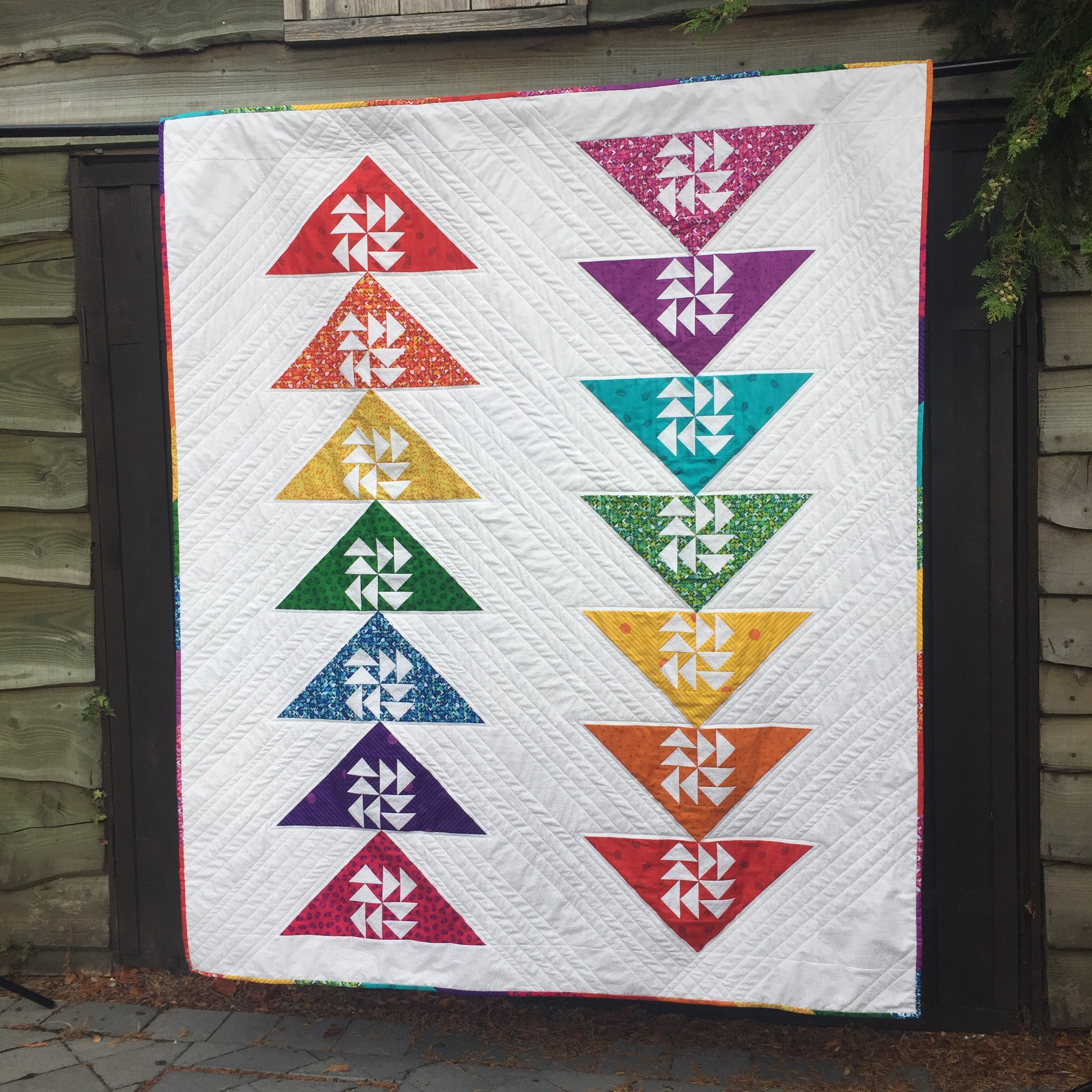 Puzzled Geese Quilt