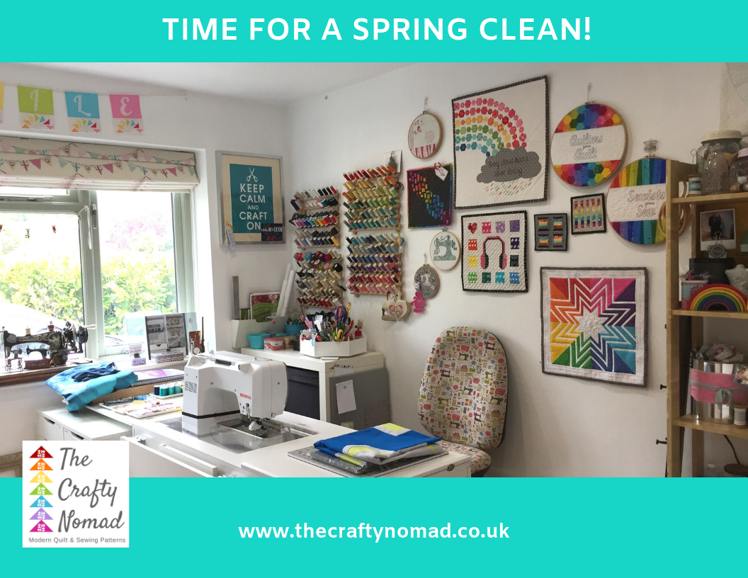 Fancy taking a sneaky peek at my sewing space?