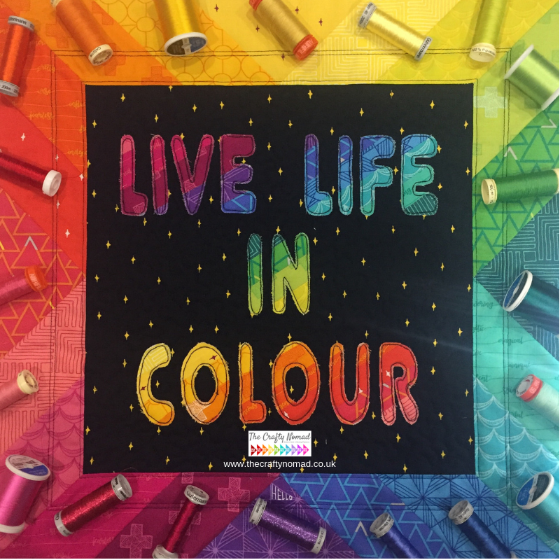 Choosing thread, live life in colour