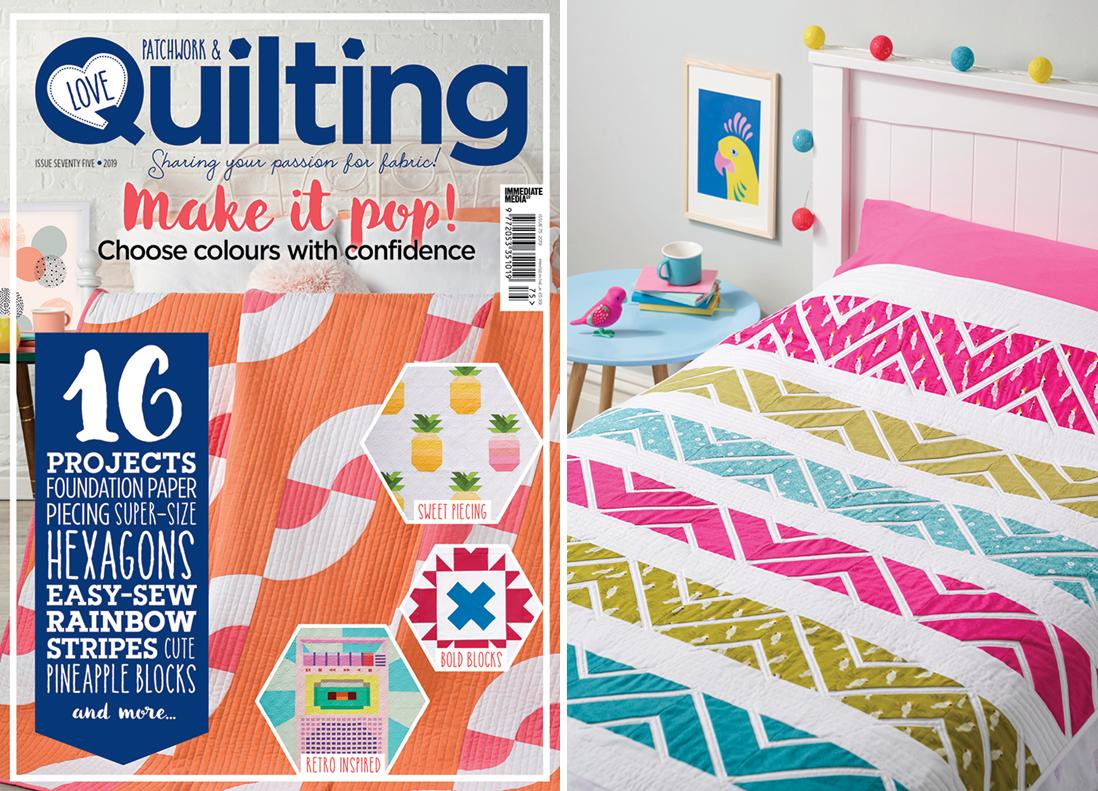Jungle Weave - Love Patchwork & Quilting Issue 75 - June 2019