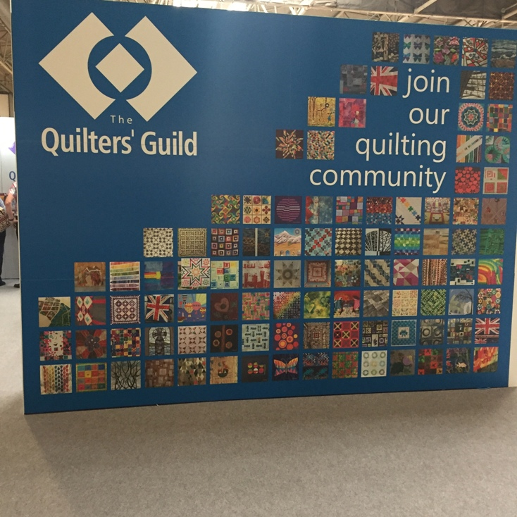 Photo from Festival of Quilts 2018