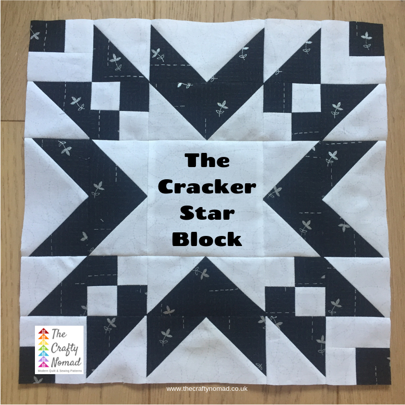 Cracker Star Block The Crafty Nomad Jo Westfoot