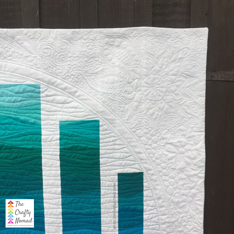 Window to the Waves Quilt by Jo Westfoot The Crafty Nomad WM