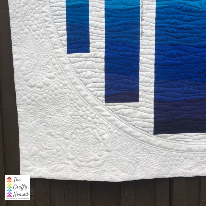 Window to the Waves Quilt by Jo Westfoot The Crafty Nomad