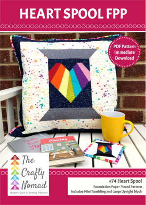 Heart Spool FPP PDF Pattern Front Cover The Crafty Nomad.png