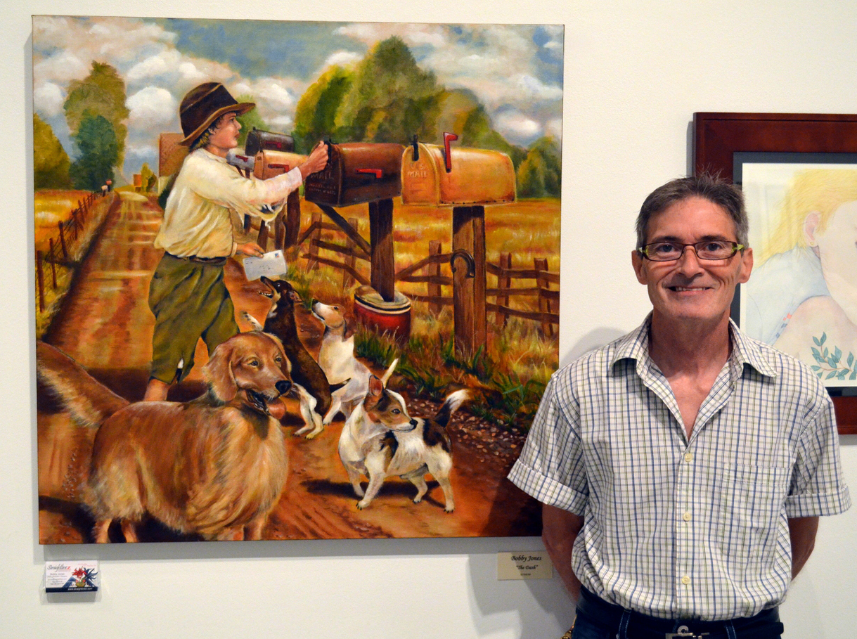 Columbus Artists' Guild Show 2014.  Photographer John Tucker