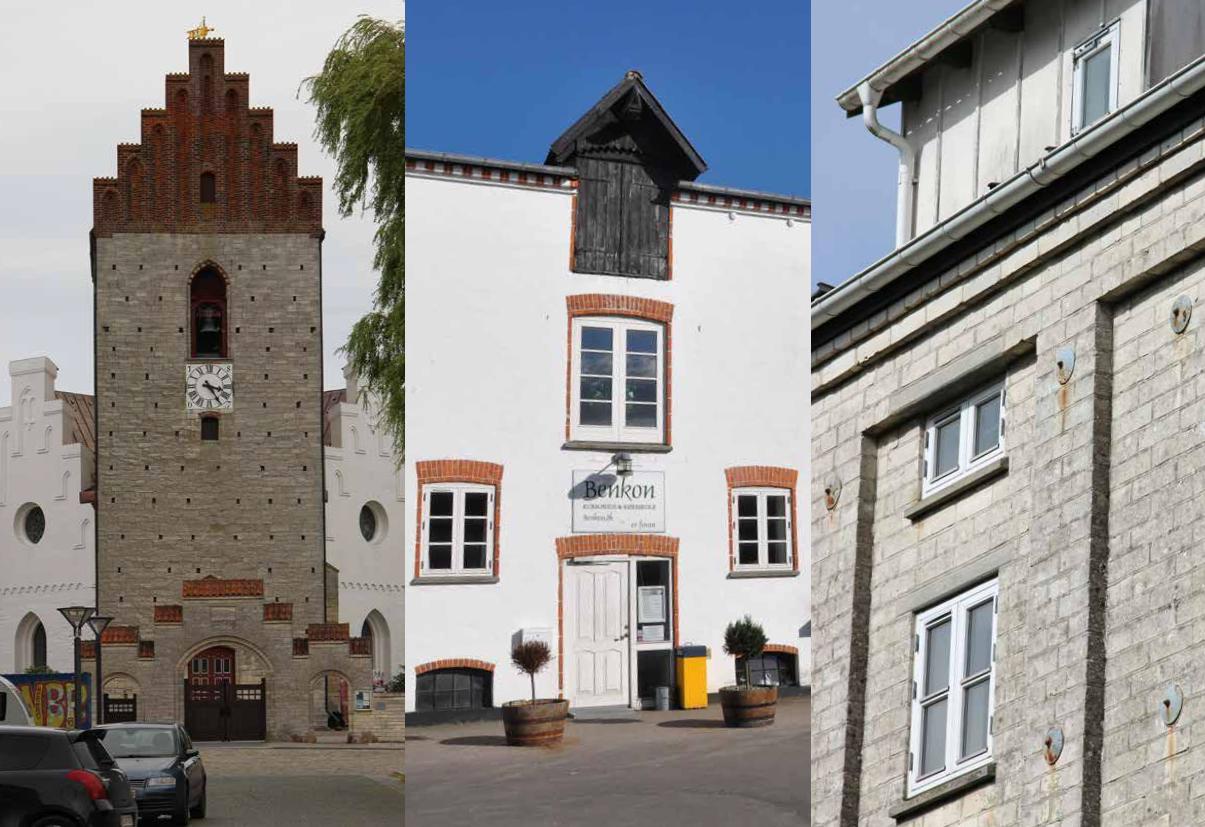 Kridtstensbygninger i mange former er en særlig kvalitet i Store Heddinge og i Stevns Kommune. Udviklingsplanen beskriver disse bygninger og Store Heddinges særkende.