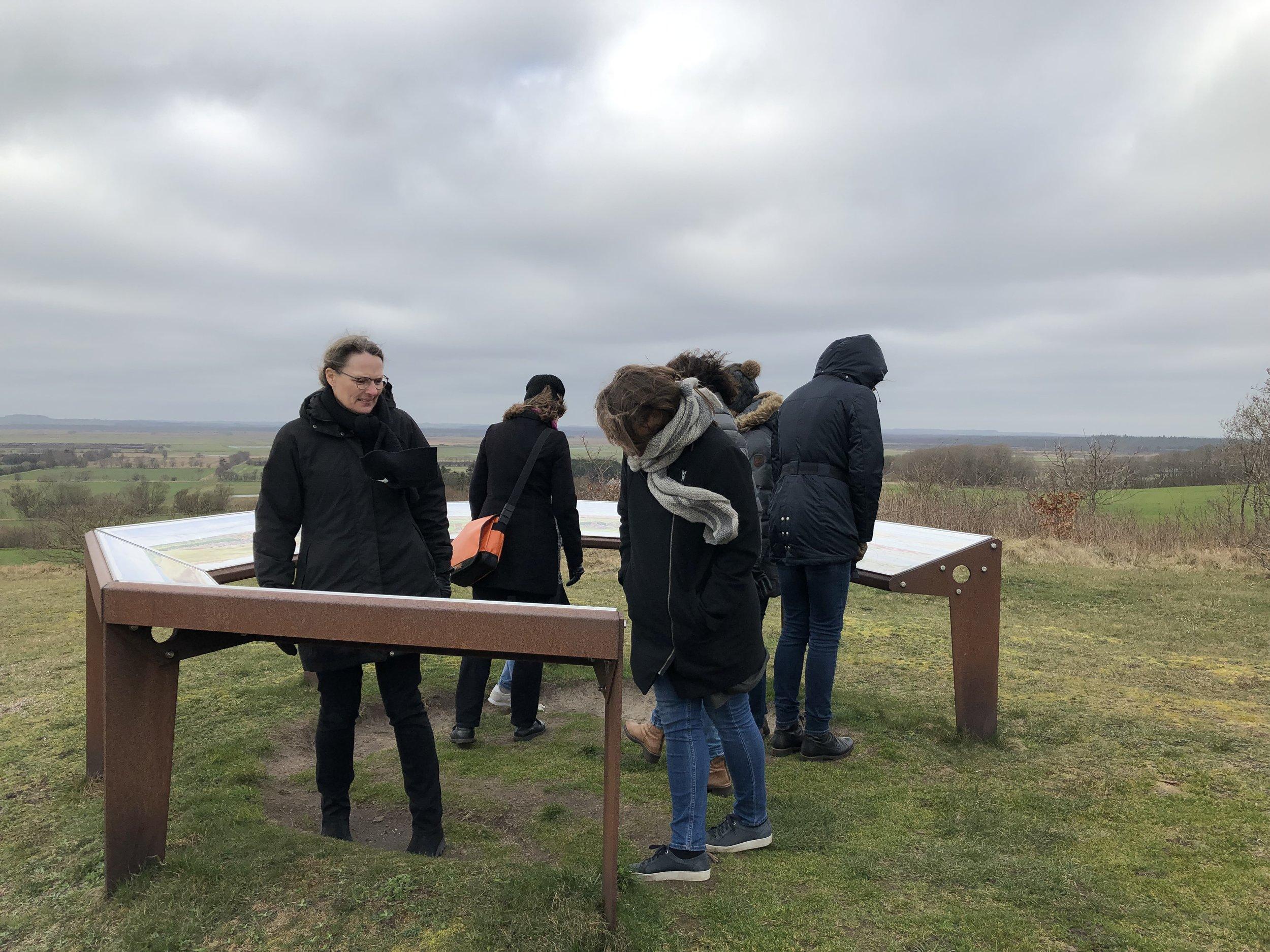 På fælles ture og workshops har vi drøftet landskabsværdier. Det giver et godt og fælles afsæt for det videre arbejde med landskabet.