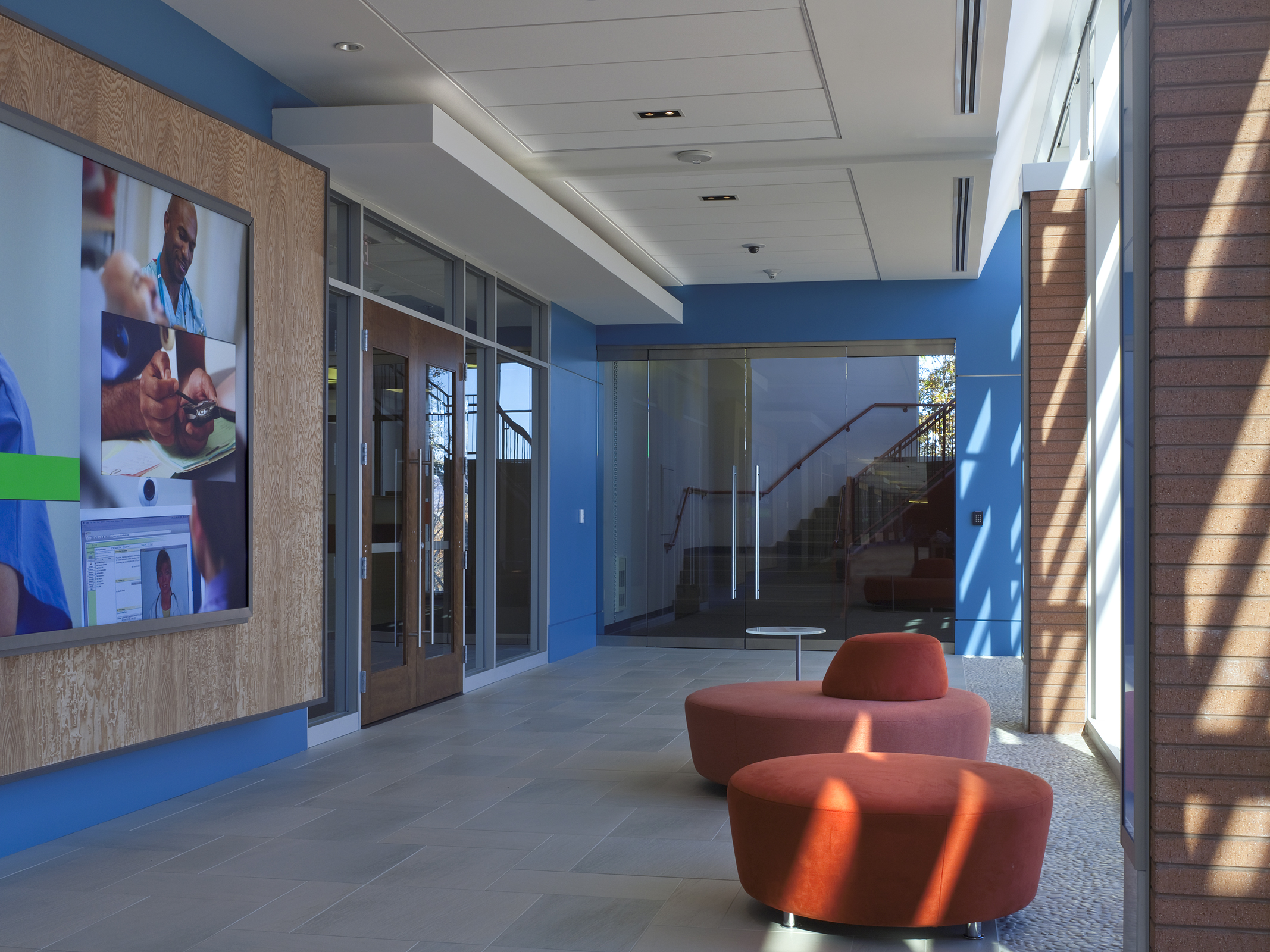 Lobby and Reception Spaces
